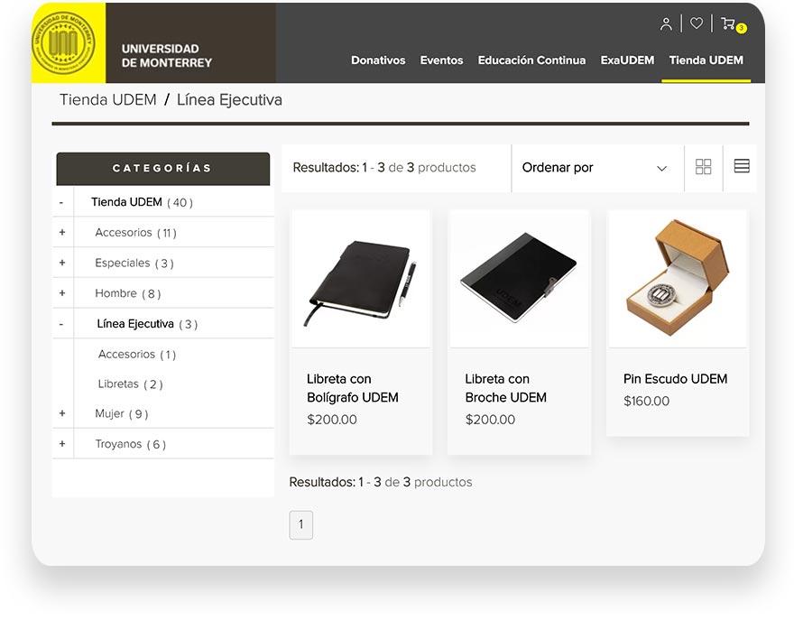 escuela-tienda-oficial-educación y comercio electrónico