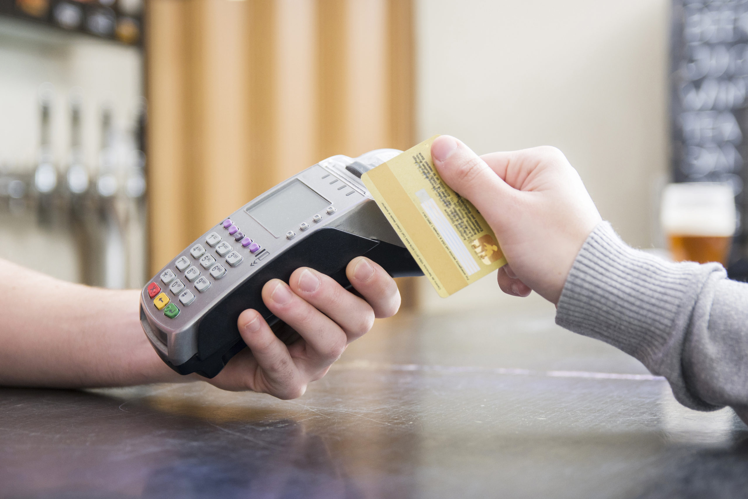 aceptación de tarjetas-soluciones de pago